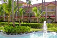 旅馆在蓬塔Cana 免版税图库摄影