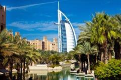 旅馆在迪拜,阿拉伯联合酋长国 库存图片
