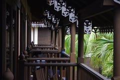 旅馆在马来西亚的Redang海岛 免版税库存图片