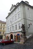 旅馆在Hradcany 免版税库存照片