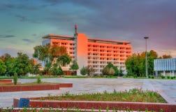 旅馆在Navoi,乌兹别克斯坦 库存照片