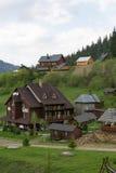 旅馆在Slavsk 免版税图库摄影