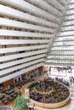 旅馆塔内部 免版税图库摄影