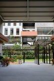 旅馆外部  免版税图库摄影