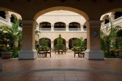 旅馆大厅墨西哥 免版税库存照片