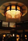旅馆大厅的设计 图库摄影