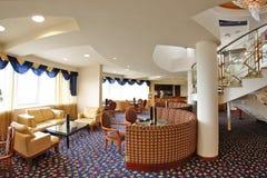 旅馆大厅 免版税库存图片
