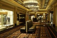 旅馆威尼斯式大厅的palazzo 库存照片