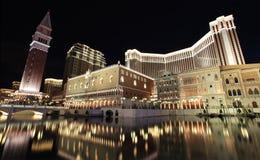 旅馆威尼斯式澳门的手段 库存图片