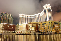 旅馆威尼斯式的澳门 免版税图库摄影