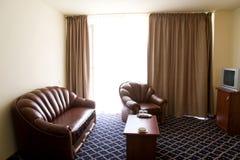 旅馆客房开会 免版税库存照片