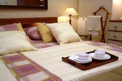 旅馆客房服务 免版税库存照片