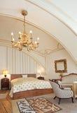 旅馆客房样式葡萄酒 库存照片