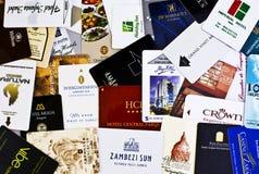旅馆客房钥匙 免版税图库摄影