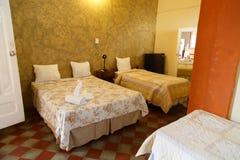 旅馆客房indoords在尼加拉瓜 库存照片