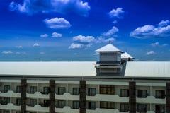 旅馆屋顶 库存图片