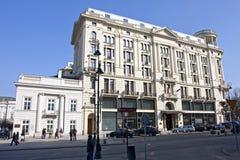 旅馆布里斯托尔在华沙 库存照片