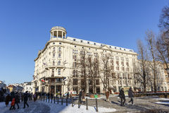旅馆布里斯托尔在华沙 库存图片