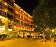 旅馆希尔顿皇家在杜布罗夫尼克 免版税库存图片