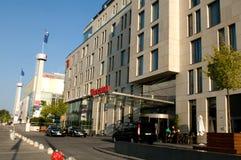 旅馆希拉顿 免版税库存照片