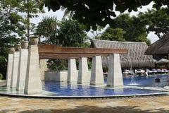 旅馆手段水池 库存照片