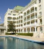 旅馆拉丁文在圣徒康斯坦丁和海伦娜依靠 免版税库存图片