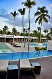 旅馆旅馆卡塔龙尼亚皇家Bavaro 多米尼加共和国 免版税图库摄影