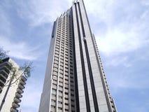 旅馆最高的西班牙 免版税库存照片