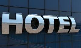 旅馆标志 免版税库存图片