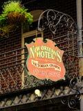 旅馆标志1 免版税库存照片