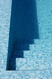 旅馆池游泳 库存照片