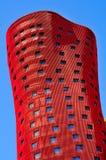 旅馆波尔塔Fira在巴塞罗那,西班牙 免版税库存照片