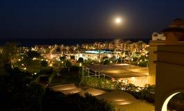 旅馆照明豪华晚上 图库摄影