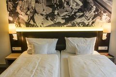 旅馆现代空间 库存图片