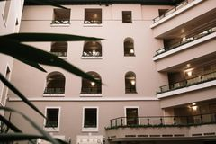 旅馆的Windows 图库摄影