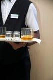 旅馆管家 免版税库存照片