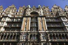 旅馆罗素,伦敦 免版税图库摄影