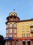 旅馆老鹰在奥勒尔号 库存图片