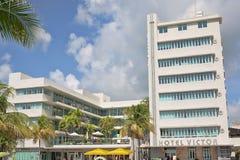 旅馆胜者,南海滩 免版税库存图片