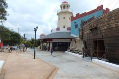 旅馆苦楝根皮Cayo圣玛丽亚-古巴 库存照片