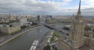 旅馆莫斯科乌克兰 股票视频