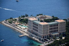 旅馆蒙特卡洛海湾 库存照片