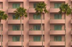 旅馆视图 免版税库存图片