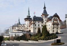 旅馆豪华瑞士 免版税库存照片