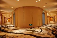 旅馆走廊 免版税图库摄影
