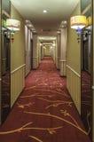 旅馆走廊 库存照片