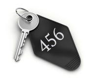 旅馆钥匙 免版税库存照片