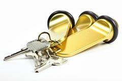 旅馆钥匙 库存照片