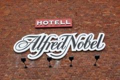 旅馆阿尔弗雷德・诺贝尔 免版税库存照片