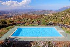 旅馆非常美丽池游泳 库存图片